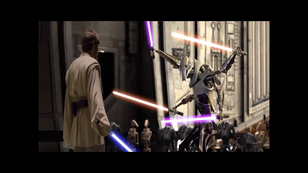 Fan Edit Obi Wan Vs Darth Grievous Version 2 0 Voice Acting And