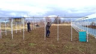 Подготовка фермы-трафарета