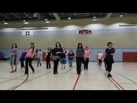 Easy Rumba --- Demo + Walk Through / Line Dance