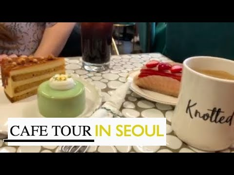 ☕️🍰insta famous cafes in kangnam in seoul 💚 // COEX, Dosan Park, etc.