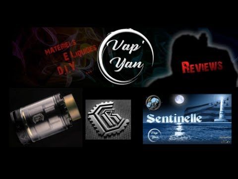 "Reload RTA ""Reload Vapor USA"" / Sentinelle by ""Cloud's Of LOLO""(FR)"