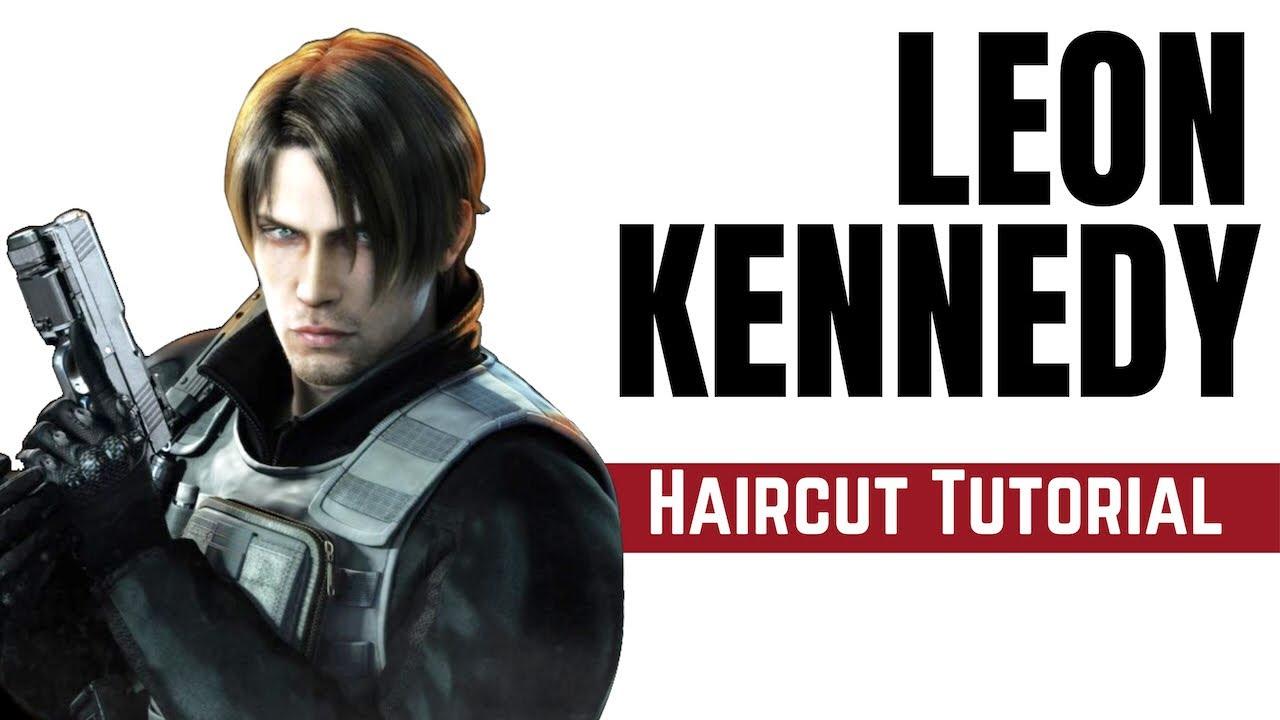 leon kennedy resident evil haircut tutorial - thesalonguy