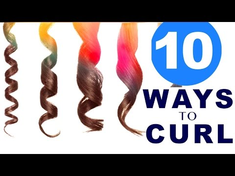 10 EASY Lazy WAYS to CURL Your HAIR
