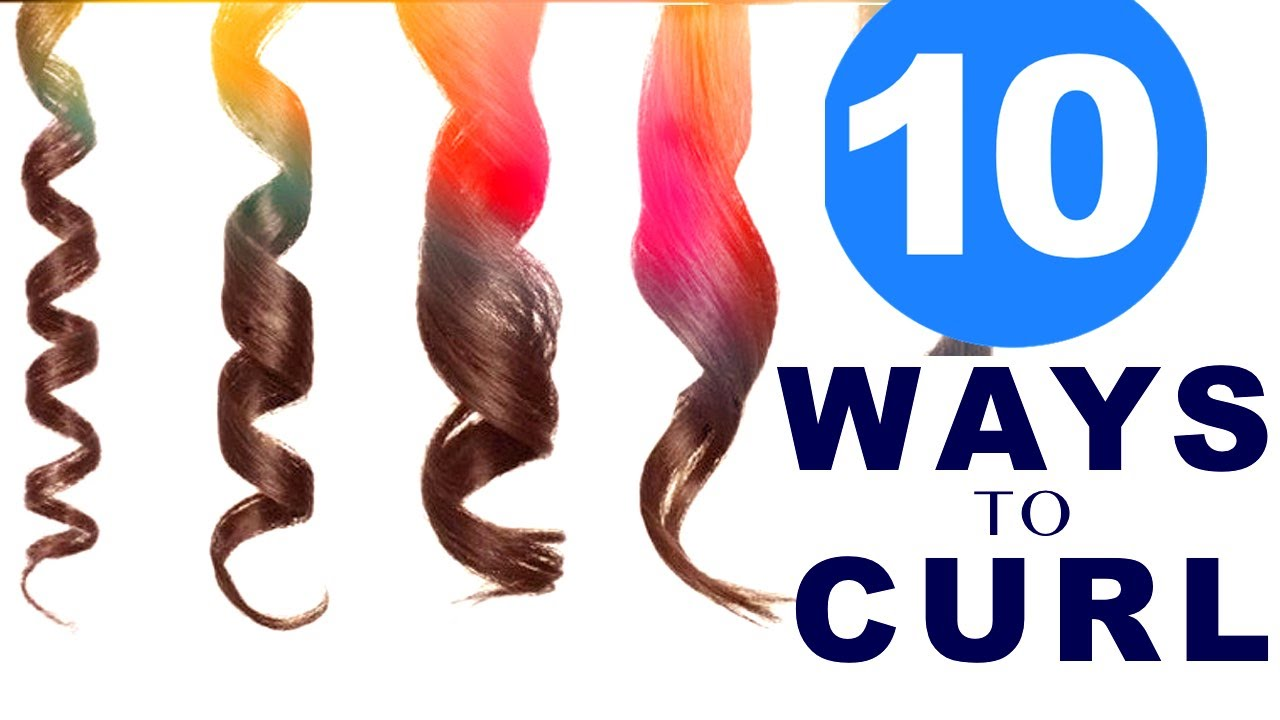 ★ 10 easy lazy ways to curl your hair 💋 hairstyles