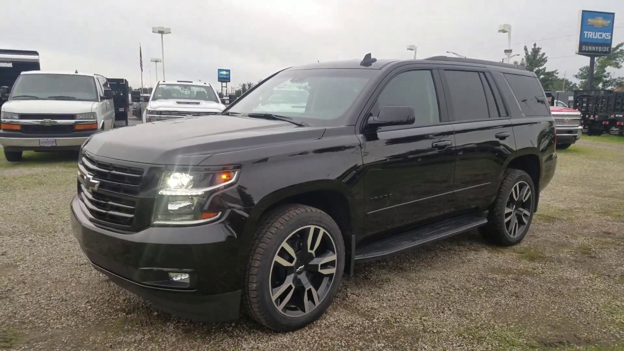 2019 Chevy TAHOE Premier RST 6.2L PERFORMANCE EDITION 4x4 ...