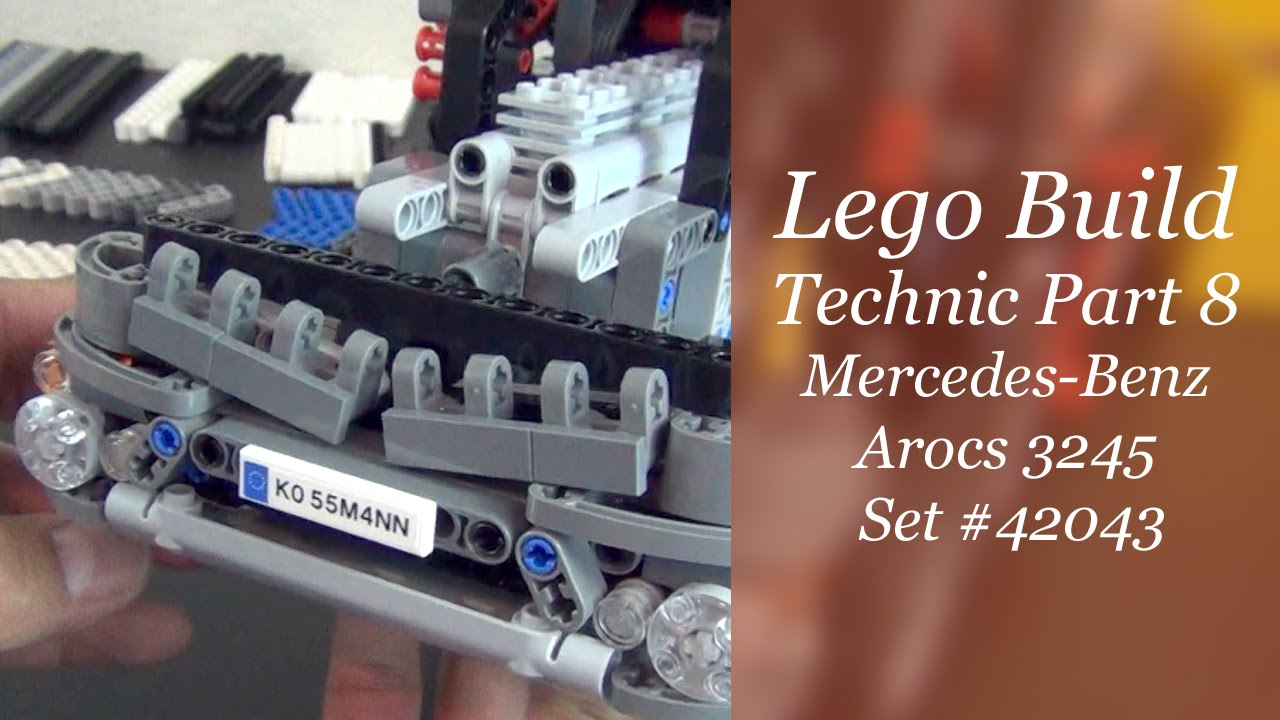 let 39 s build lego technic mercedes benz arocs 3245 set. Black Bedroom Furniture Sets. Home Design Ideas