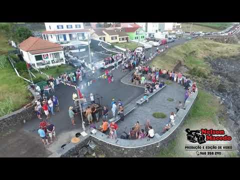 Festa de São João vista de cima, Fajã Grande 2018, Ilha de São Jorge Açores