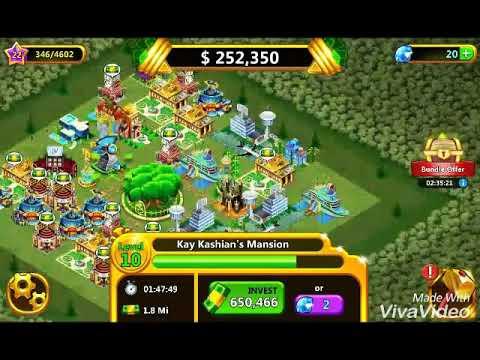 I have won a jackpot in money tree city //kh tube