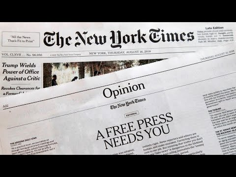 The New York Times admits 'it wants to get Trump'