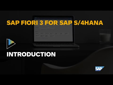The SAP Fiori User Experience For SAP S/4HANA