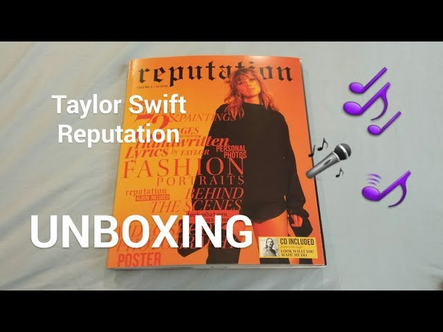taylor swift reputation magazine