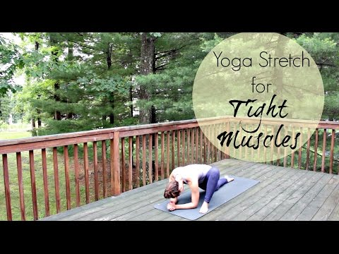 15 Min Yoga Stretch for Tight Muscles | Yoga for Sore Muscle Recovery | ChriskaYoga