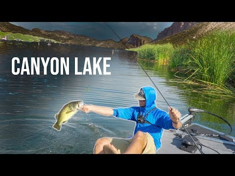 Arizona Bass Fishing | Flippin' For Big Bass At Canyon Lake