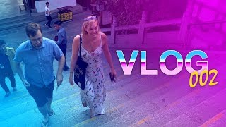 Sjokz and travis visit a beautiful landmark, travis almost dies, and more - vlog #2