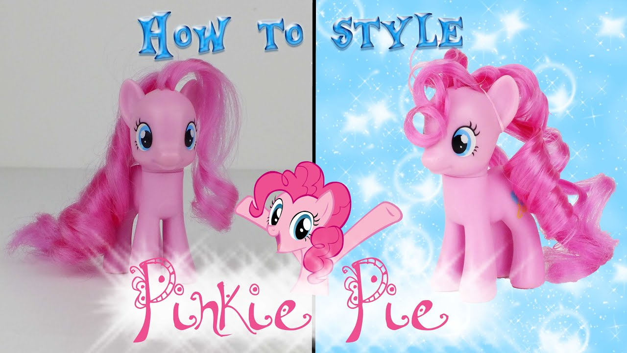 mlp hair styling tutorial mlp pinkie pie hair styling tutorial my pony 5121