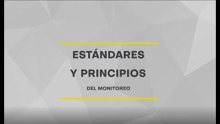 Estándares y Principios del Monitoreo de Derechos Humanos