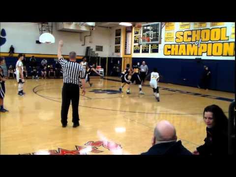 Crestwood High School Freshman Basketball vs. Annapolis Cougars 1/13/15