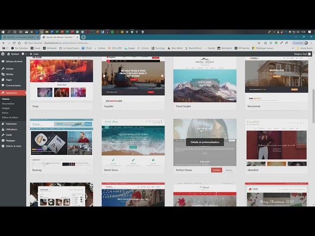 Création d'un site internet WordPress Partie 1
