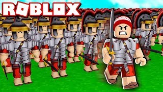 CONTROLLING AN ARMY OF WARRIORS in ROBLOX → Faction Defence 🎮