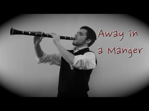 Away In a Manger--Clarinet and Guitar (Vince Carrola)