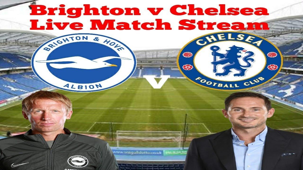Brighton v Chelsea Live Match Stream - YouTube