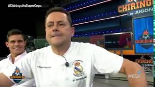 Roncero, eufórico en su llegada a El Chiringuito