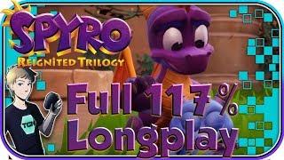 Spyro Reignited Trilogy - Spyro: Year of the Dragon Full Game 117% Walkthrough Longplay