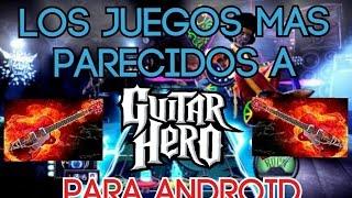 Los juegos Mas parecidos a Guitar Hero para Android [Gratis](Que tal youtuberos en este video les muestro los guitar heros mas parecidos para android recuerda si te gusto regalame un like, suscribete ya que es ..., 2015-12-21T17:30:29.000Z)
