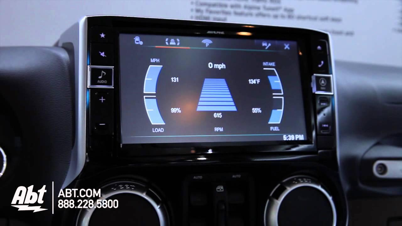 Alpine 9 Quot Restyle Dash System Jeep Wrangler Ces 2015