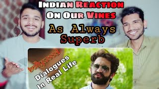 Bollywood Dialogues In Real Life By Our Vines & Rakx Production 2018 New | INDIAN REACTION | M BROS