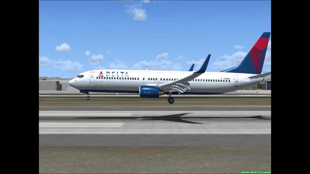 Delta fsx 737