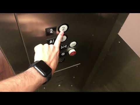 4K 60fps: DOVER Hydraulic Elevators At Paradise Valley CC (KSC Building) - Phoenix, AZ