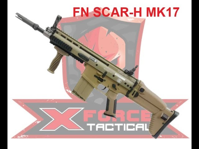 Ldt Scar Mk 17 Gel Blaster Review By X Force Tactical Youtube