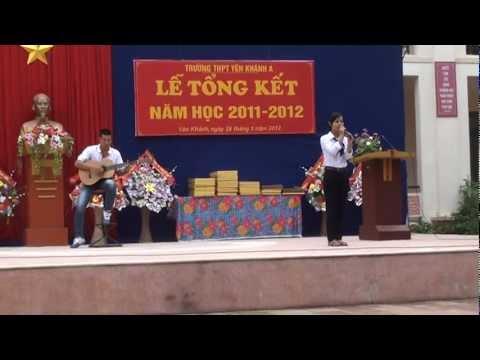 Mong ước kỷ niệm xưa by Thầy Trung Guitar _ Thanh Giang 12Q THPT Yên khánh A