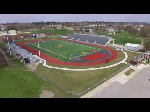 Brady Street Stadium (Drone) Davenport IA