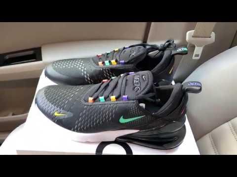 Nike Air Max 270 Black Multicolor shoes