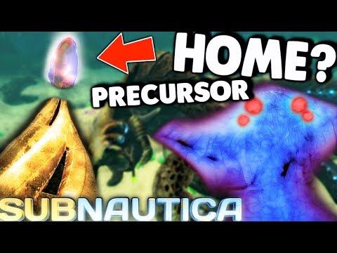 Subnautica - THE PRECURSOR HOME WORLD? COMPLETE EMPEROR PRISON, LAST UPDATE & NEW ANIMATIONS