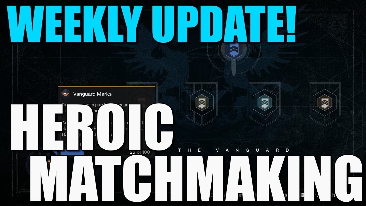 Matchmaking weekly heroic