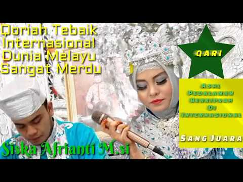 Qoriah Terbaik Internasional Dunia Melayu Suara Terindah