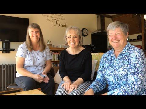 Flosstube #37 Needlework Natters with Claudia Dutcher Kistler, Sandra Murray and Nicola Parkman