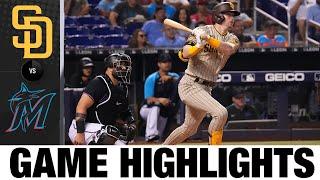 Padres vs. Marlins Game Highlights (7/23/21) | MLB Highlights