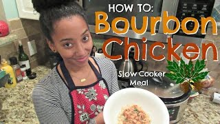 How to make BOURBON CHICKEN - Holiday recipe- abeeutifullife mini vlog