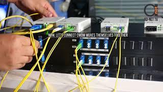Send 4 & 8 x 1310 nm Gigabit Links over same fiber using CWDM passive Multiplexer