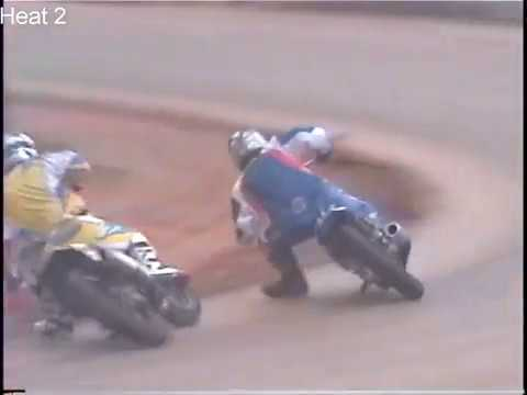 Heats, Semis and Main Event from a star studded flat track event held at Coleridge Speedway in Ramseur, NC on 04/26/2008 See champions of the sport Kenny ... - dirt track racing video image