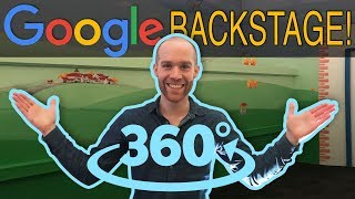 Google Backstage Tour in (8K!) 360!