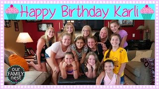 KARLI REESE'S 12TH BIRTHDAY PARTY!