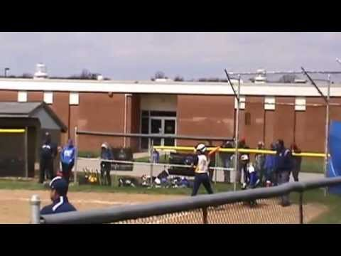 Hallie & Lindsay Ward - Kirtland High School Softball 2014