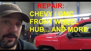 Chevy / GMC Front Wheel Bearing / Hub Assembly