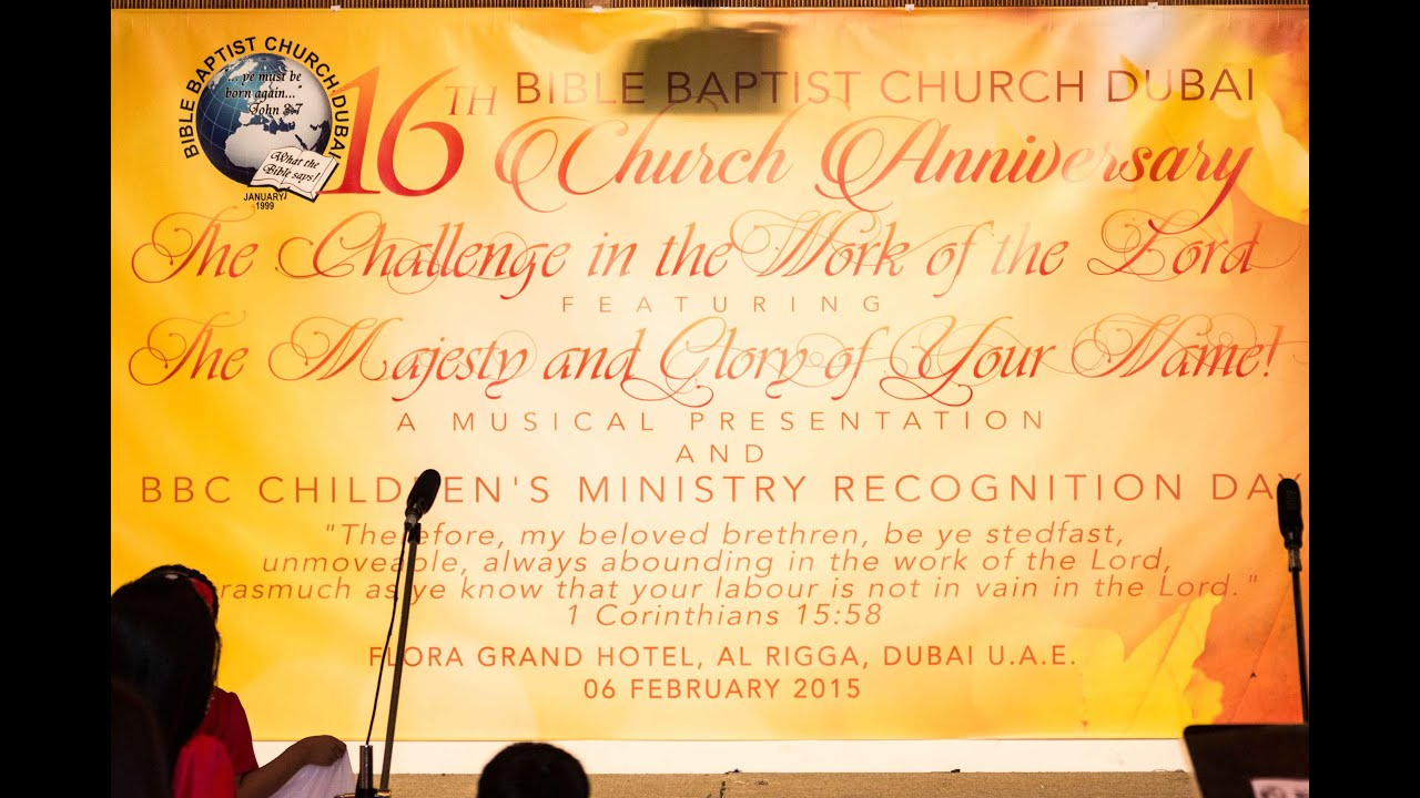 16th church anniversary message and invitation youtube 16th church anniversary message and invitation stopboris