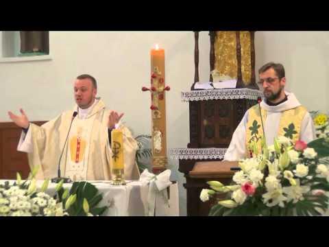Eucharystia i homilia Paweł Teperski OFMCap - Ukraina kapituła